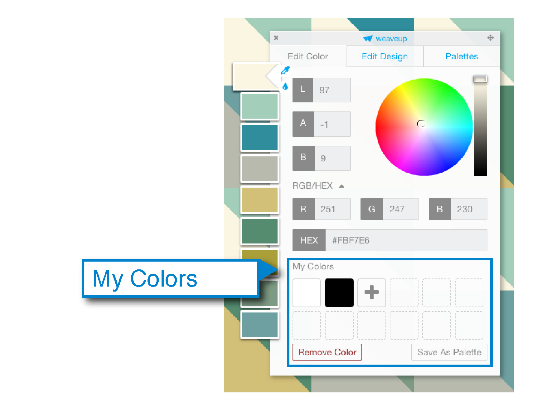change design colors, rgb explained, how to use and change colors